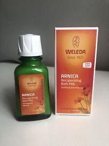 WELEDA Arnica Recuperating Bath Milk Soothe/Relax Muscles 50ml Vegan Natural NEW