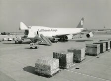 LUFTHANSA CARGO BOEING 747-200F OFFICIAL LARGE PHOTO GERMANY LH