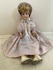 "Antique German Armand Marseille A 13 M Bisque Head Doll 31"""