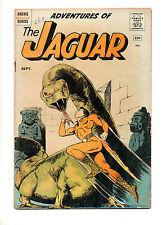 Adventures of The Jaguar #1 VG 4.0 1ST APP/ORIGIN The JAGUAR! Archie Series 1961