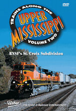 Trains Along the Upper Mississippi Vol 2 BNSF St. Croix Sub DVD Pentrex CP NEW