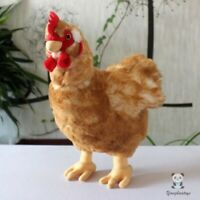 Stuffed Animal Toy Simulation Plush Chicken Doll Big Hen Toys Present Decoration