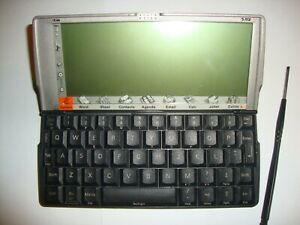 PSION 5MX PDA  with stylus Grade B fully working but faulty stylus spring