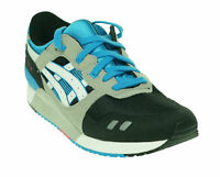 Asics Youth Gel Lyte III GS Ankle High Athletic Sneakers Black White Size 7