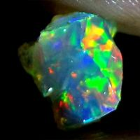 01.10 Cts. Ring Necklace 100% Natural Welo Fire Ethiopian Opal Rough Gemstone