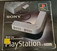 Sony PlayStation 1 PS1 Multi Tap SCPH-1070 4 Player Multitap Adapter CIB