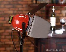 800W Red Head Light + 2x Bulbs focusable soft flood lighting video studio film