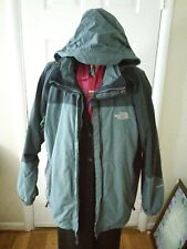 The North Face Cryos GTX Men'sExpedition 800 Down Parka XL Gray HyVent Vintage