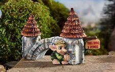 Miniature Bridge w Troll Medieval Times GI  700292 Fairy Garden
