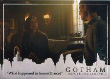 Gotham Season 2 Penguin Parallel Base Card #43 ?What happened to honest Bruce??