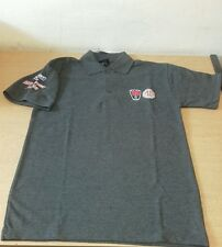 MG ROVER POLO SHIRT GREY (Large) Genuine Branded Merchandise.GT MG SPARES LTD