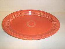 HOMER LAUGHLIN FIESTA WARE Poppy Orange Serving Platter Tray Drip Tray