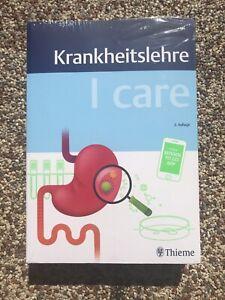 I Care Krankheitslehre.    Fachbuch NEU 9783132418240