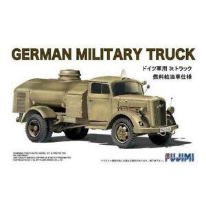 1/72 German Military Truck Vehicle Fuel Oil Type (Plastic model)