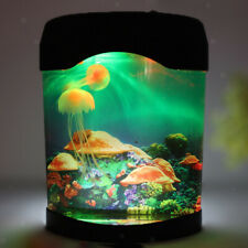 Deluxe LED Licht Qualle Aquarium Fisch Petstank Nachtlicht Haushalt Home Dekor
