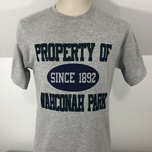 Property of Wahconah Park Pittsfield MA T Shirt Minor League Stadium Mens Medium