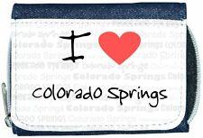 I Love Heart Colorado Springs Denim Wallet