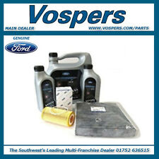 Genuine Ford Focus 2.5 ST 225 Service Kit. 7L 5W30 Oil, Filters & Sump Washer