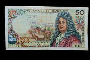 billet 50 francs racine D.166  B.5-11-1970.B TB  / TRES BEAU