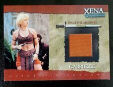 GC3 Gabrielle (Plain) Costume Xena Warrior Princess Season Six 6 trading card