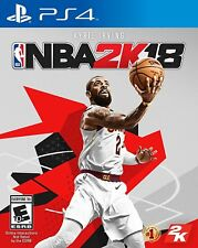 NBA 2K18 Early Tip-Off Edition Playstation 4 PS4 Kyrie Irving Cover