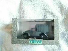 VITESSE DIECAST MODEL CAR VAN RED VW LIEFEWAGEN TYP 83 WEHRMACHT 1945 051B