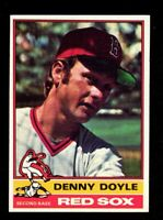 "1976 Topps #381 Denny Doyle Boston Red Sox Baseball Card ""mrp-collectibles"" NM"