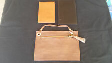 3 Leather Wallets - Billfolds - Credit Card Holder, Buffalo, soft