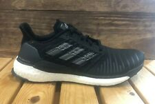 adidas Solarboost - Black Gray White - Women's Running Shoes Size 10.5 - BC0674