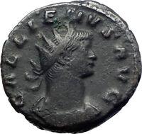 GALLIENUS son of Valerian I 255AD Genuine Ancient Roman Coin Liberality  i73647