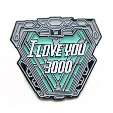 Iron Man I Love You 3000 Enamel Pins Nuclear Reactor Metal Avengers Endgame Pins