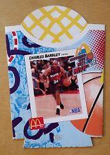 1993 McDonald's NBA French Fry Card Holder Charles Barkley