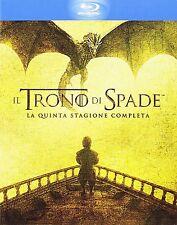 IL TRONO DI SPADE STAGIONE 5 4 BLU-RAY SIGILLATO - EDIZIONE ITALIANA HBO