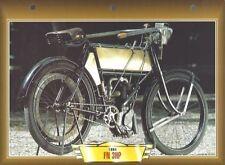 CARTE FICHE MOTO FN 3 HP 1904