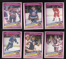 1984 OPC NHL LOT of 6 RECORD BREAKER CARDS NM/MT o-pee-chee GRETZKY PARK POTVIN