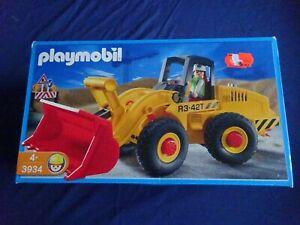 Classic Playmobil® OVP von 2002 Nr. 3934 OVP großer Radlader / Bagger