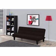 Modern Futon Sofa Bed Convertible  Dorm Microfiber Couch Sleeper Lounger NEW