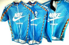 TREK NIKE Cycling Jersey Shirts Mens S 2 46 Long  Short Blue Cold weather Jacket