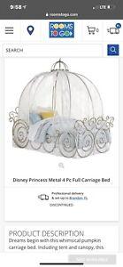 Disney Princess Carriage Bed TWIN