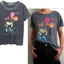 Junk Food Disney Mickey Florida Part Burnout Tri-Blend Fabric Boyfriend T-shirt