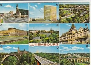 Luxembourg, Mehrbildkarte ngl G0734