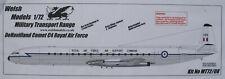 Welsh Models MT72/08 - De Havilland Comet C4 - Royal Air Force - 1:72 - Bausatz