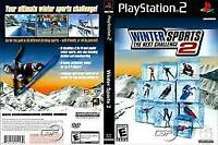 Winter Sports 2: The Next Challenge  ( PS2 Sony Playstation 2 ) TESTED