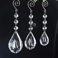 Cleal loquat Hanging Crystal Chandelier Lamp Prism Feng Shui Pendant 50/63/76mm