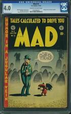 Mad # 3 EC Comics us original 1952 cgc 4.0 VG