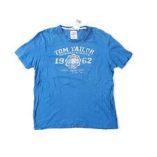 TOM TAILOR Herren-T-Shirts mit Rundhals und Motiv