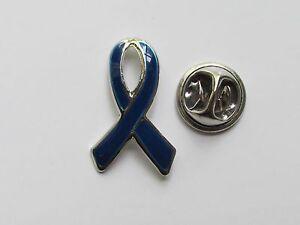 *CLEARANCE* 24 Enamel NAVY BLUE Awareness RIBBON PINS cancer abuse bullying