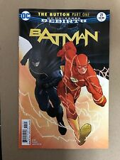 BATMAN #21 BUTTON INTERNATIONAL COVER 1ST PRINT DC COMICS (2017) FLASH WATCHMEN