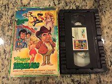 LA VENGANZA DE DON HERCULANO RARE BIG BOX VHS 1989 SPANISH COMEDY ALFONSO ZAYAS