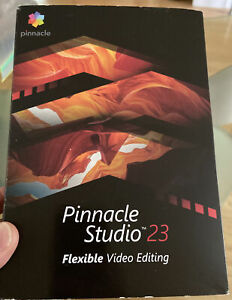 PINNACLE STUDIO 23 Flexible video editing NEW; SEALED...Software
